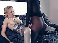 blondine lesbisch spielzeug