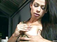 shemale latina big tits solo tranny