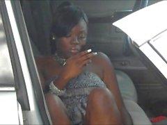 noir maman mère ebony - pieds de d'ébène orteils
