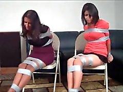 bdsm kink two-girls bound