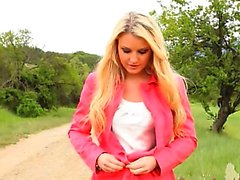 babe blonde nylon outdoor