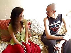 morena casal peludo