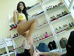 anal brunettes foot fetish