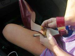 fétichisme des pieds milfs mamelons nudité en public
