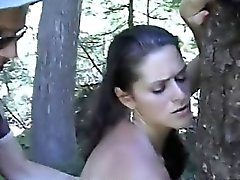 Alluring MILF loves to get fucked in the nature