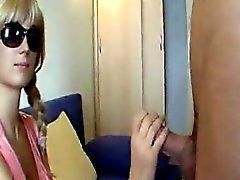 Undercover Girl Satisfies Her Dream