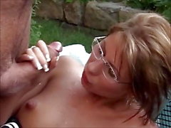 brunette cumshot facial hd videos milf