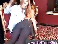 lesbian spanking classy girl xvideos