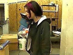 inked redhead goth