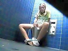 amateur masturbation bathroom caught