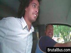 amateur rubia mamada autobús