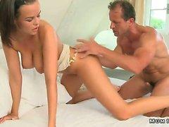 big tits couple fucking