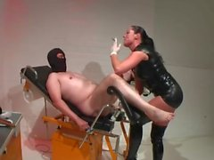 amateur slave strapon