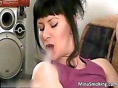 bebé morena masturbación milf