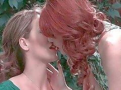 lesbisk onani oralsex redhead