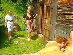 blondes german group sex