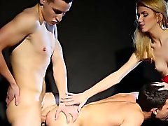 bisexuell blondine blowjob