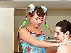 amateur barely legal defloration