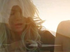 Sunset in Malibu in art fingering movie