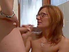 amadurece ruivas tits alemão