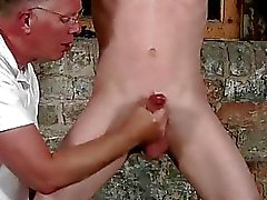Free gay porn nasty hardcore sexy men Sean McKenzie is trussed up and
