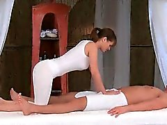 brunette erotic massage softcore