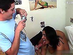 anal ass blowjob brunette hardcore