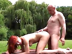 babe doggystyle hardcore old young outdoor
