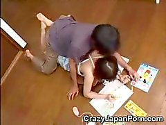 Japanese Teen Abused!