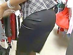 big tits brunettes public