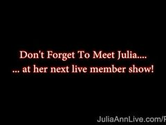 julia ann juliaannlive mom mother