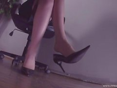 pé nylons meias shoeplay