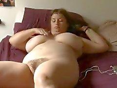 bbw masturbatie