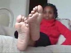 black kink toes