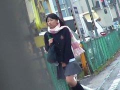 asiático hd japonés al aire libre bragas
