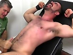 Dad man gay movies porn Dolan Wolf Jerked & Tickled