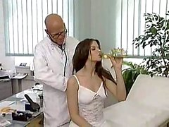 doctor sex pussy licking blowjob cum
