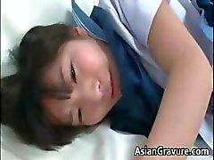 amatööri aasialainen suihin hardcore