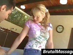 cute massage teen young