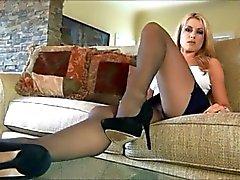 babes blondes fingering pornstars