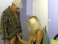 blondes blowjobs french old young