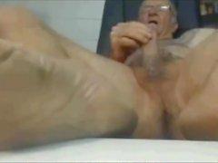 gay daddy masturbation small cock