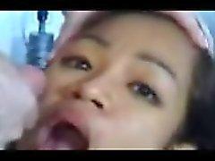 Monica Filipino Amateur Teen Big Round Ass, Jizz In Mouth