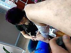 asiatique clignotant masturbation nudité en public