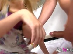 hd spanish amateur reality blonde