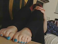 amateur foot fetish pov
