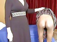 bdsm lezdom spanking