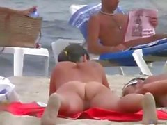 amateur plage bikini pipe