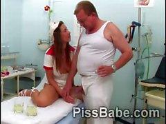 babe fetish grandpa nurse pissing