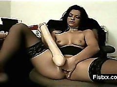 brunette masturbation milf
